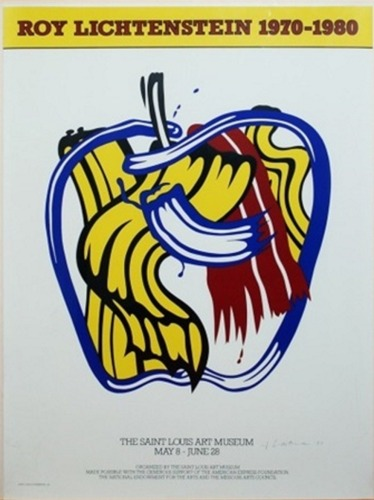 Roy Lichtenstein-Apple for the Saint Louis Art Museum-1981