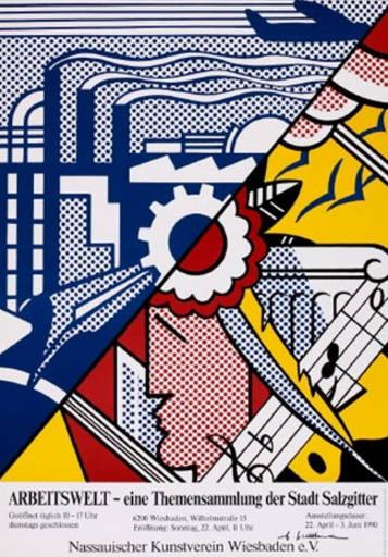 Roy Lichtenstein-Arbeitswelt - eine Themensammlung der Stadt Salzgitter-