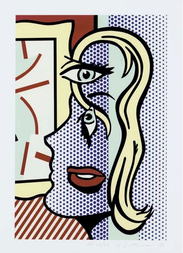 Roy Lichtenstein-Art Critic-1996