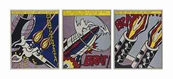 Roy Lichtenstein-As I Opened Fire-1966