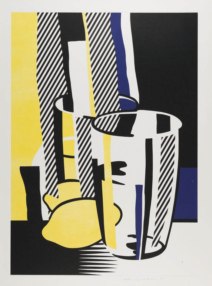 Roy Lichtenstein-Before The Mirror-1975