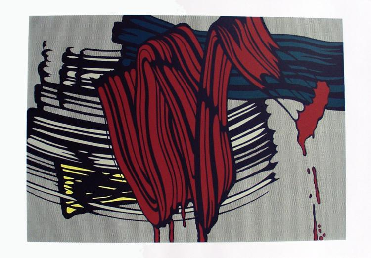 Roy Lichtenstein-Big Painting #6-