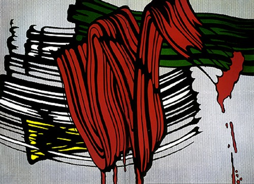 Roy Lichtenstein-Big Painting Nr. 6-
