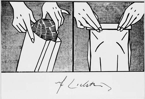 Roy Lichtenstein-Bread in Bag-