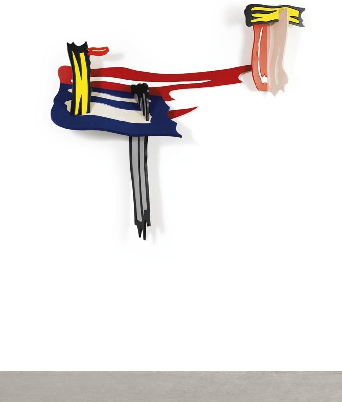 Roy Lichtenstein-Brushstroke Vi-1986