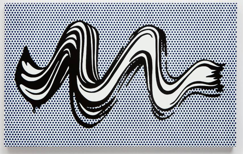Roy Lichtenstein - Brushstroke