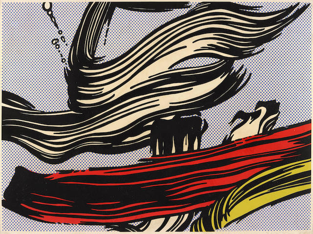 Roy Lichtenstein-Brushstrokes-1967