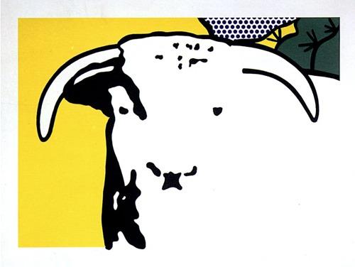 Roy Lichtenstein-Bull Head-1973