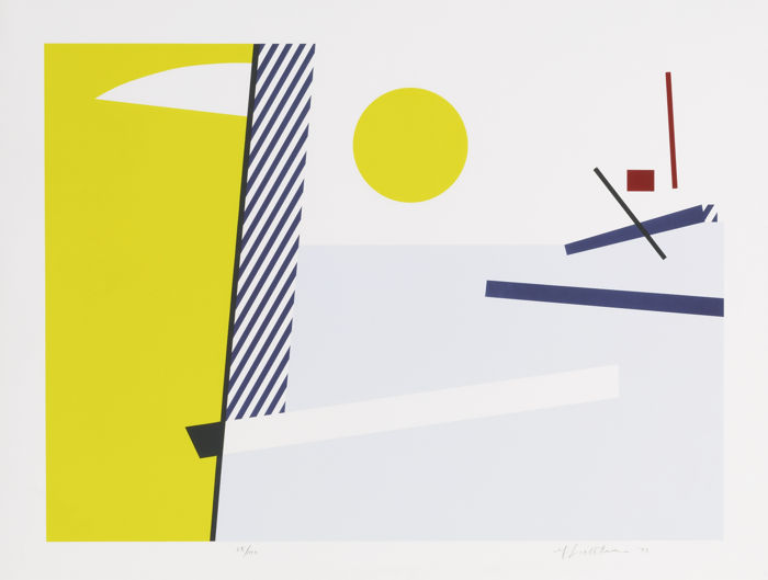 Roy Lichtenstein-Bull Head III-1973