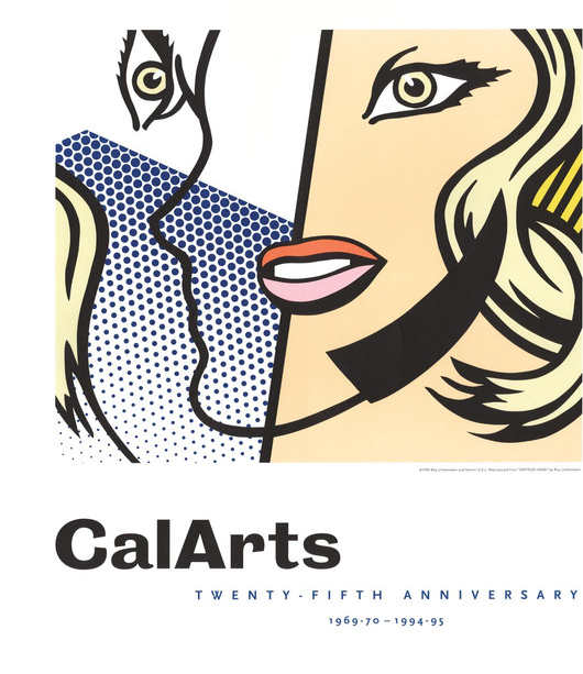 Roy Lichtenstein-CalArts Twenty-Fifth Anniversary poster-1995