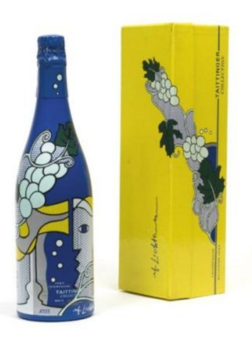 Roy Lichtenstein-Champagne Taittinger Champagne Bottle-1985