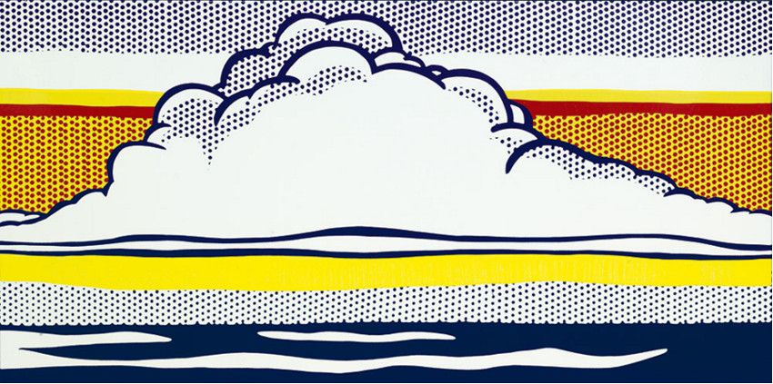 Roy Lichtenstein - biography - 1964 - artists life large robert 1967