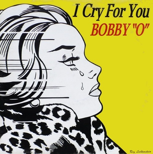 Roy Lichtenstein-Cover for Record I Cry for You, Bobby O-1983
