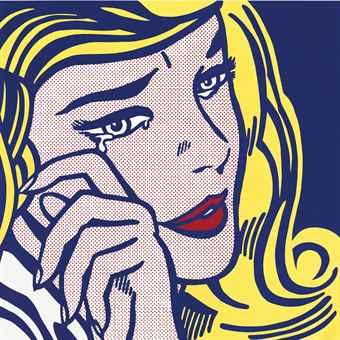 Roy Lichtenstein-Crying Girl-1964