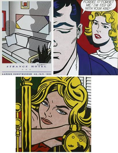 Roy Lichtenstein-Deichtorhallen Hambourg (Blonde Waiting; Forget it); Strange Hotel-