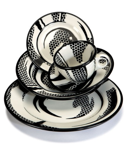 Roy Lichtenstein-Dinnerware Objects-1966
