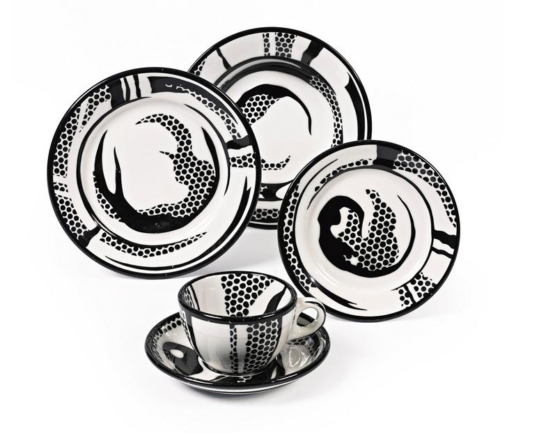 Roy Lichtenstein-Dinnerware-One Setting-