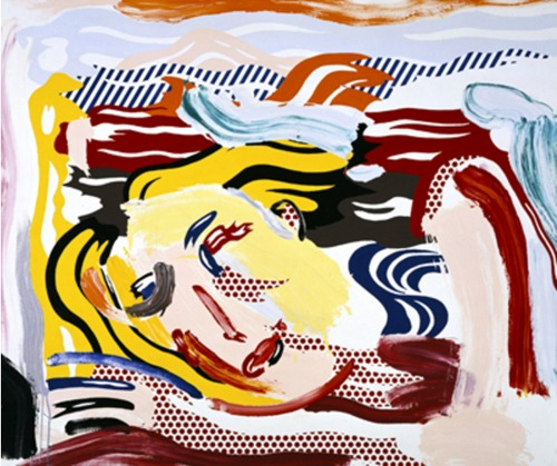 Roy Lichtenstein-Drowning Muse-1986