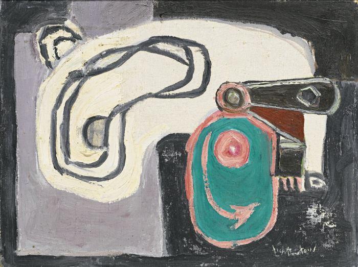 Roy Lichtenstein-Eccentric Cam-1954