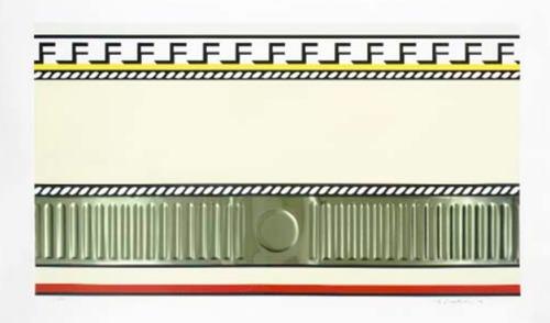 Roy Lichtenstein-Entablature I-1976