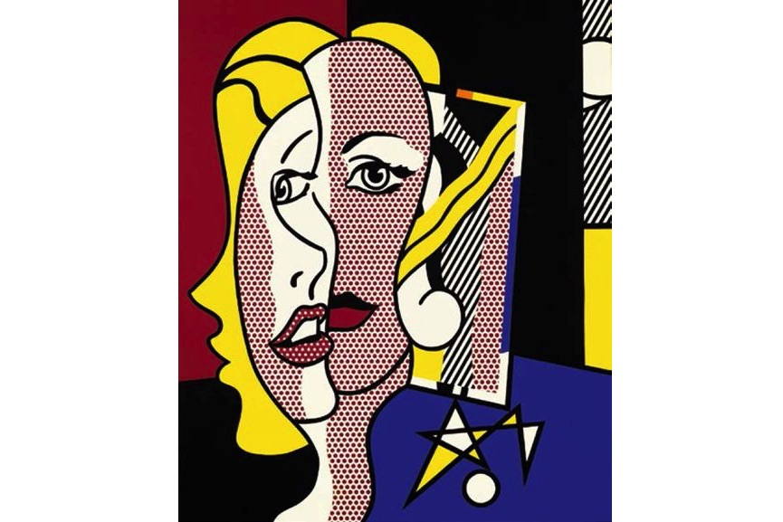 Roy Lichtenstein - Female Head, 1977