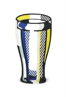 Roy Lichtenstein-Glass V-1977