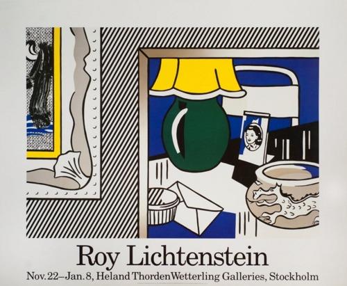 Roy Lichtenstein-Green Lamp-1986