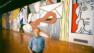 Lichtenstein Mural Replica