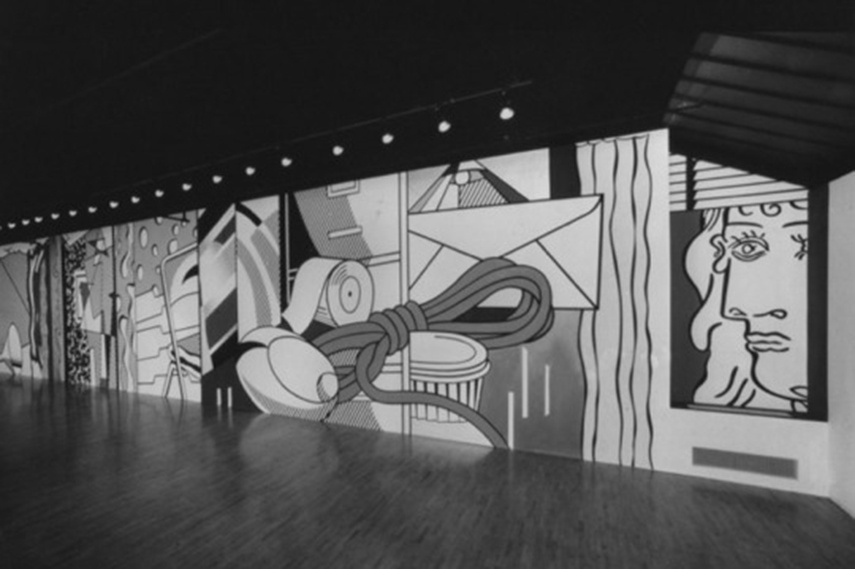 Lichtenstein Mural painting Replica