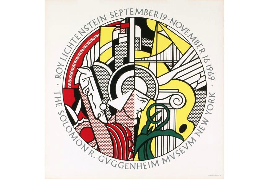 Roy Lichtenstein - Guggenheim Museum, 1969