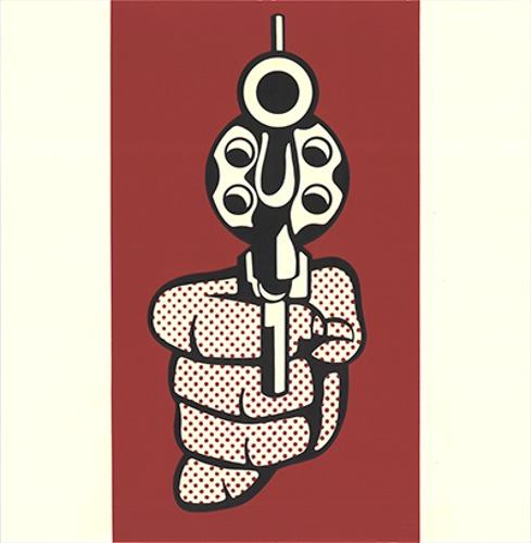 Roy Lichtenstein-Hand Gun-1968