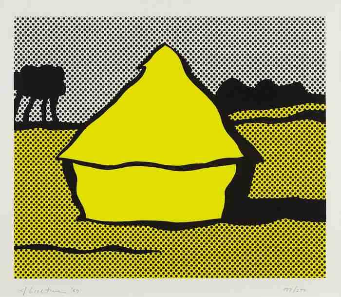 Roy Lichtenstein-Haystack (C. 84)-1969