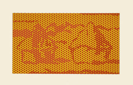 Roy Lichtenstein-Haystack #6, State III-1969
