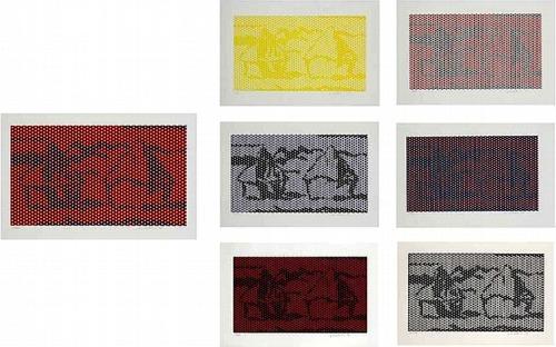 Roy Lichtenstein-Haystack Series-1969