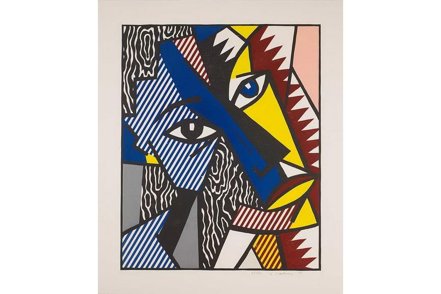 Roy Lichtenstein - Head