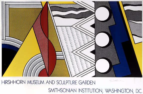 Roy Lichtenstein-Hirshhorn Museum and Sculpture Garden, Smithsonian Institution, Washington-1987
