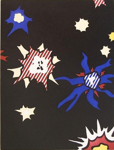 Roy Lichtenstein-Illustration for Hum Bum!-1992