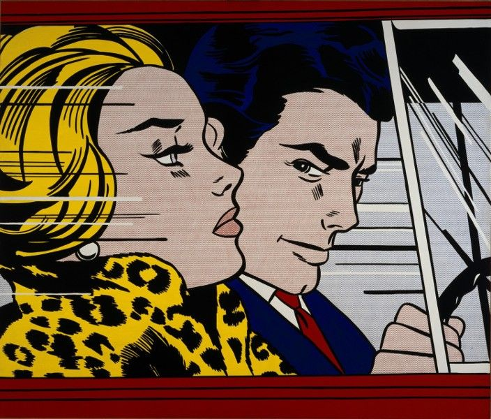 Roy Lichtenstein - In The Car, 1963