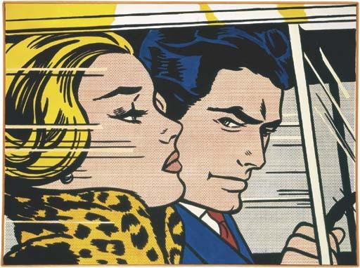 Roy Lichtenstein-In the Car-1963