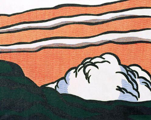Roy Lichtenstein-Landscape-1964