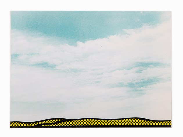 Roy Lichtenstein-Landscape 3, from the Ten Landscapes portfolio-1967