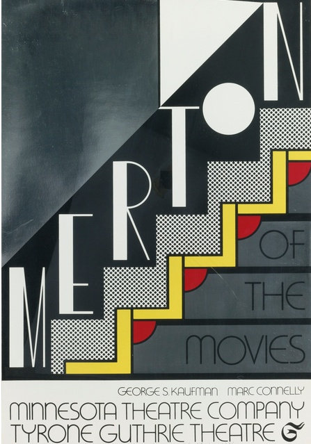 Roy Lichtenstein-Merton Of The Movies (Corlett 61)-1968