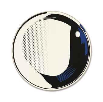 Roy Lichtenstein-Mirror #9 (36 diameter)-1972
