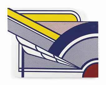 Roy Lichtenstein-Modern Painting in Porcelain-1961