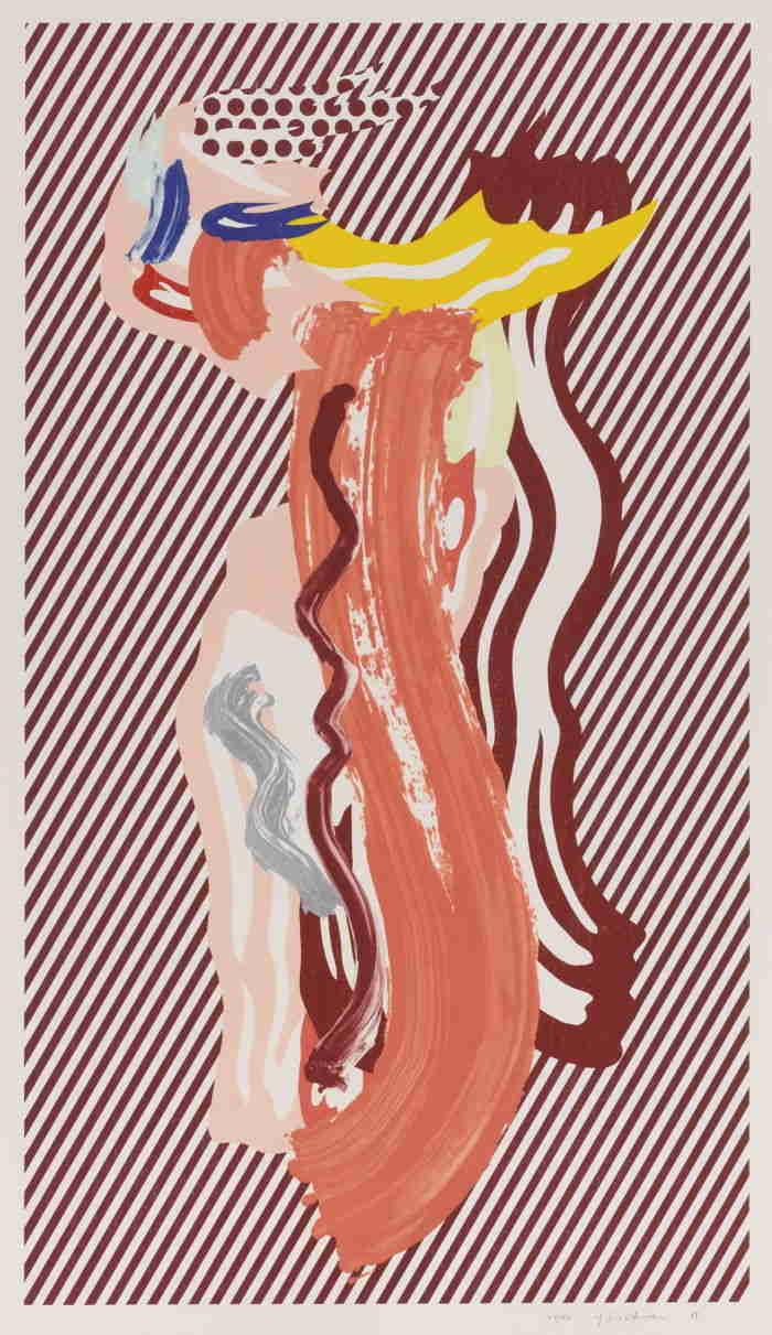Roy Lichtenstein-Nude-1989