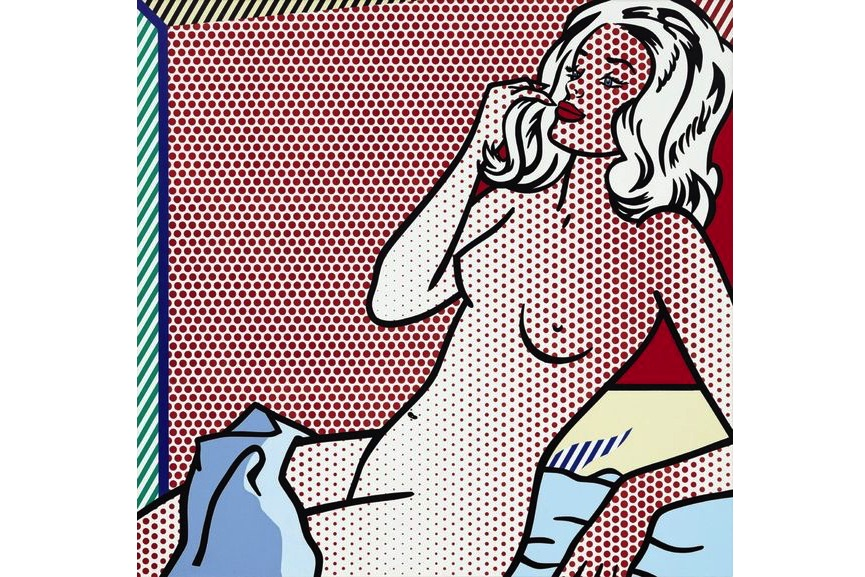 Roy Lichtenstein - Nude Sunbathing, 1995