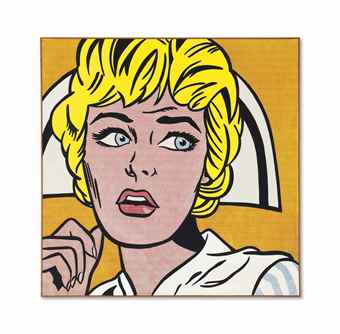 Roy Lichtenstein-Nurse-1964