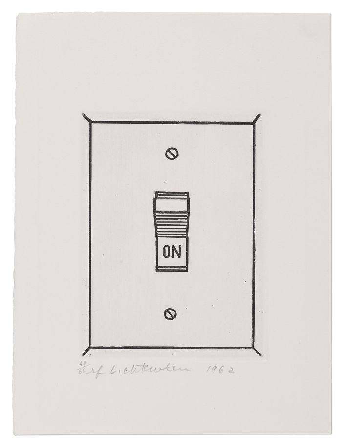 Roy Lichtenstein-On-1962