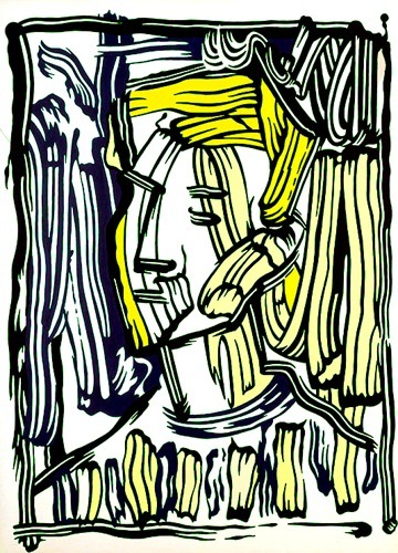 Roy Lichtenstein-Portrait II-1981