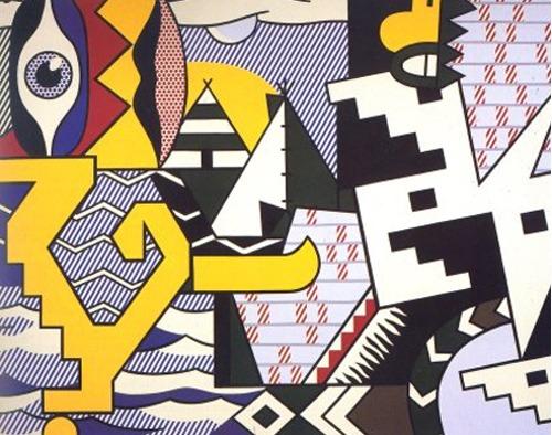Roy Lichtenstein-Pow Wow-